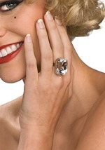 Faux Costume Diamond Ring