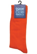 Men's Orange Dress Socks