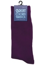 Purple Men's Socks