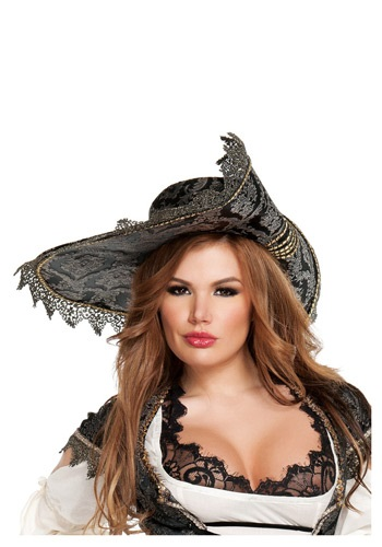 Hidden Treasure Ladies Pirate Hat