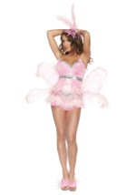 Womens Vegas Pink Flamingo Costume