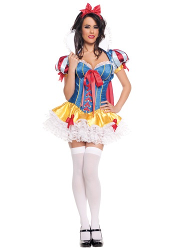 Sexy Lacy Snow White Costume