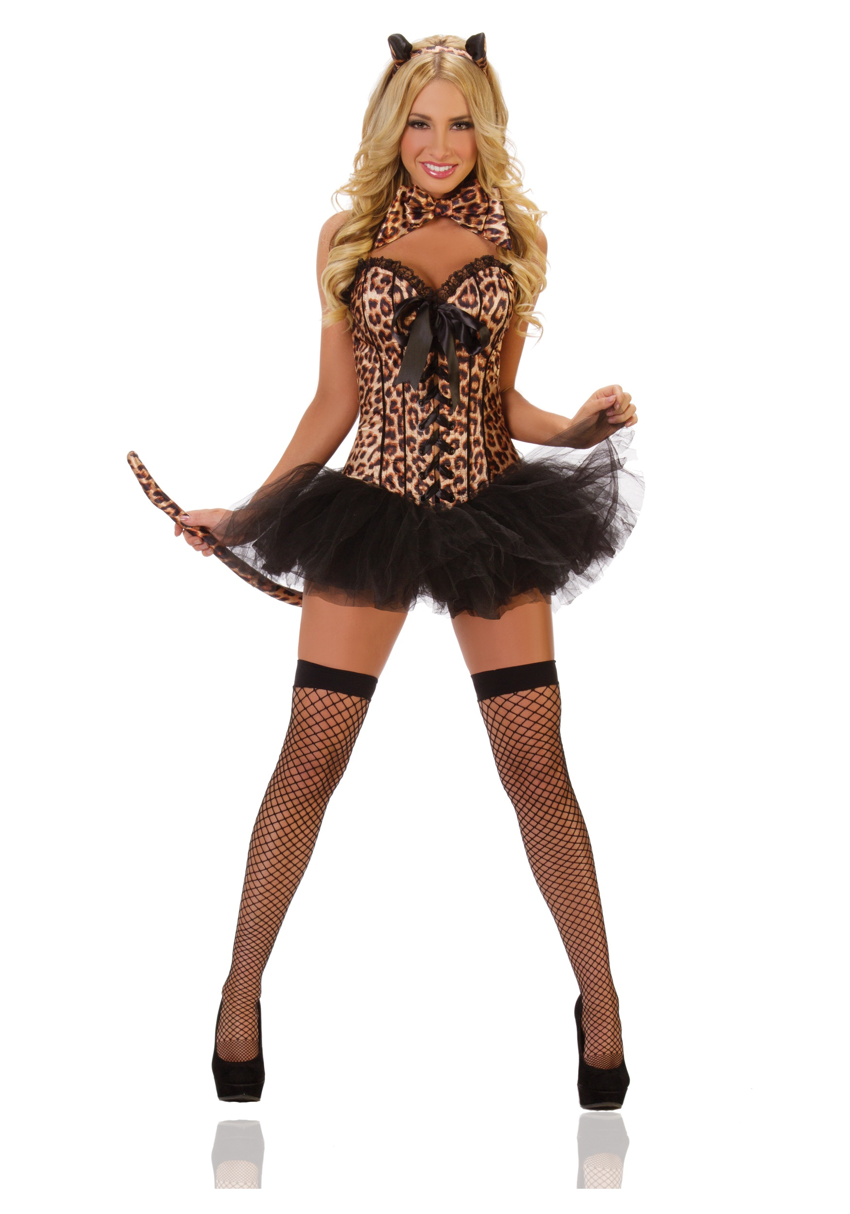 Sexy cat lady costume