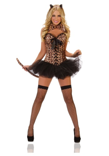 Sexy Deluxe Leopard Costume