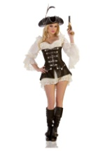 Women's Sexy Rouge Pirate Costume