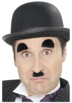 Charlie Chaplin Eyebrows and Mustache