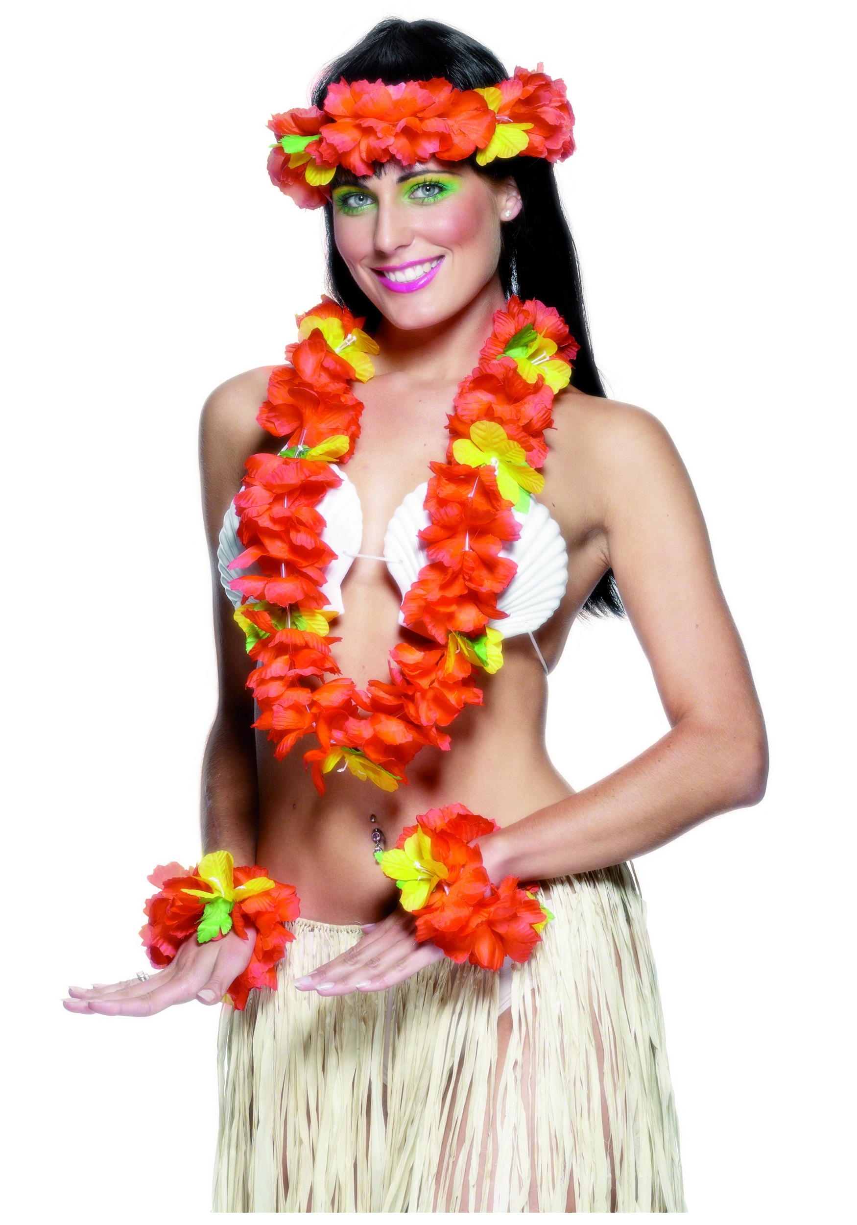 Sexy luau party costumes