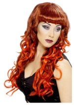Smoking Red Hot Siren Wig