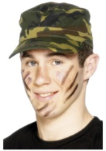 Woodland Camouflage Army Cap