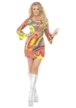Sexy Flower Power 60s Costume