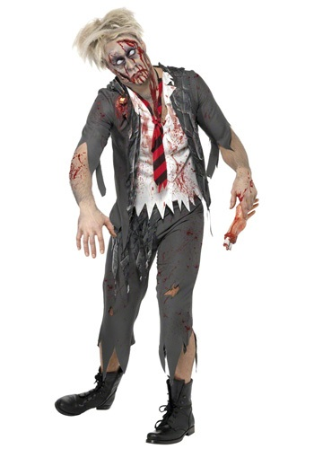 Big-Man-On-Zombie-Campus Costume