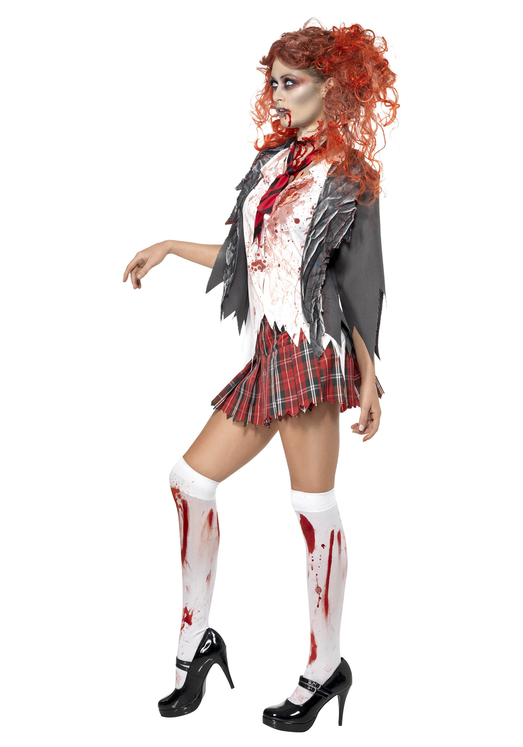 Scary School Girl Zombie Costume