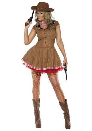 Wild West Sexy Cowgirl Costume