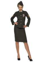 Sexy Wartime Officer Uniform