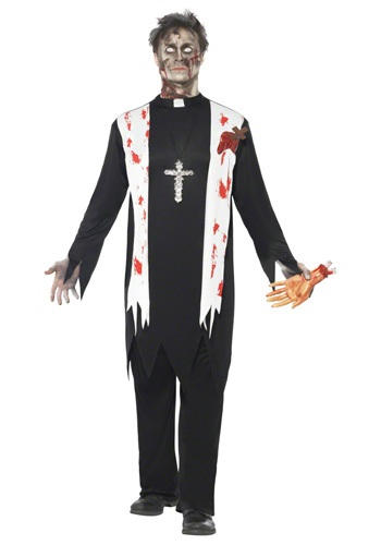 ''Father Zombie'' Priest Costume