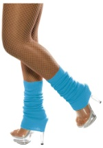 Electric Blue Leg Warmers