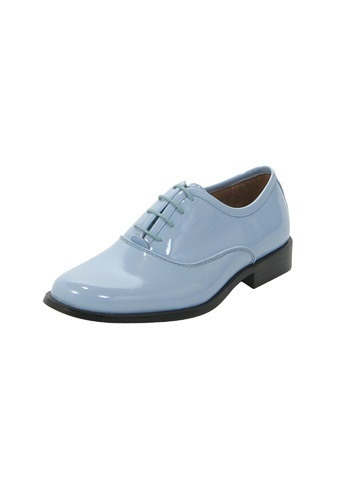 Formal Blue Tuxedo Shoes