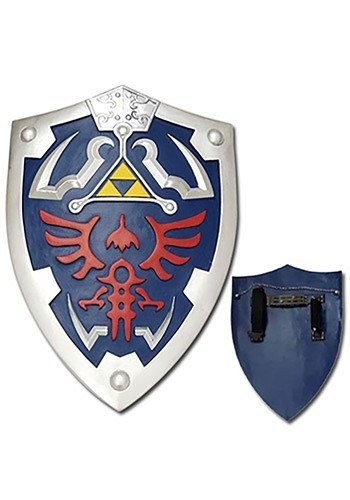 Link's Hylian Triforce Shield