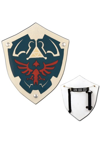 Authentic Zelda Wooden Shield