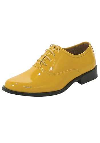 Yellow Tuxedo Shoes