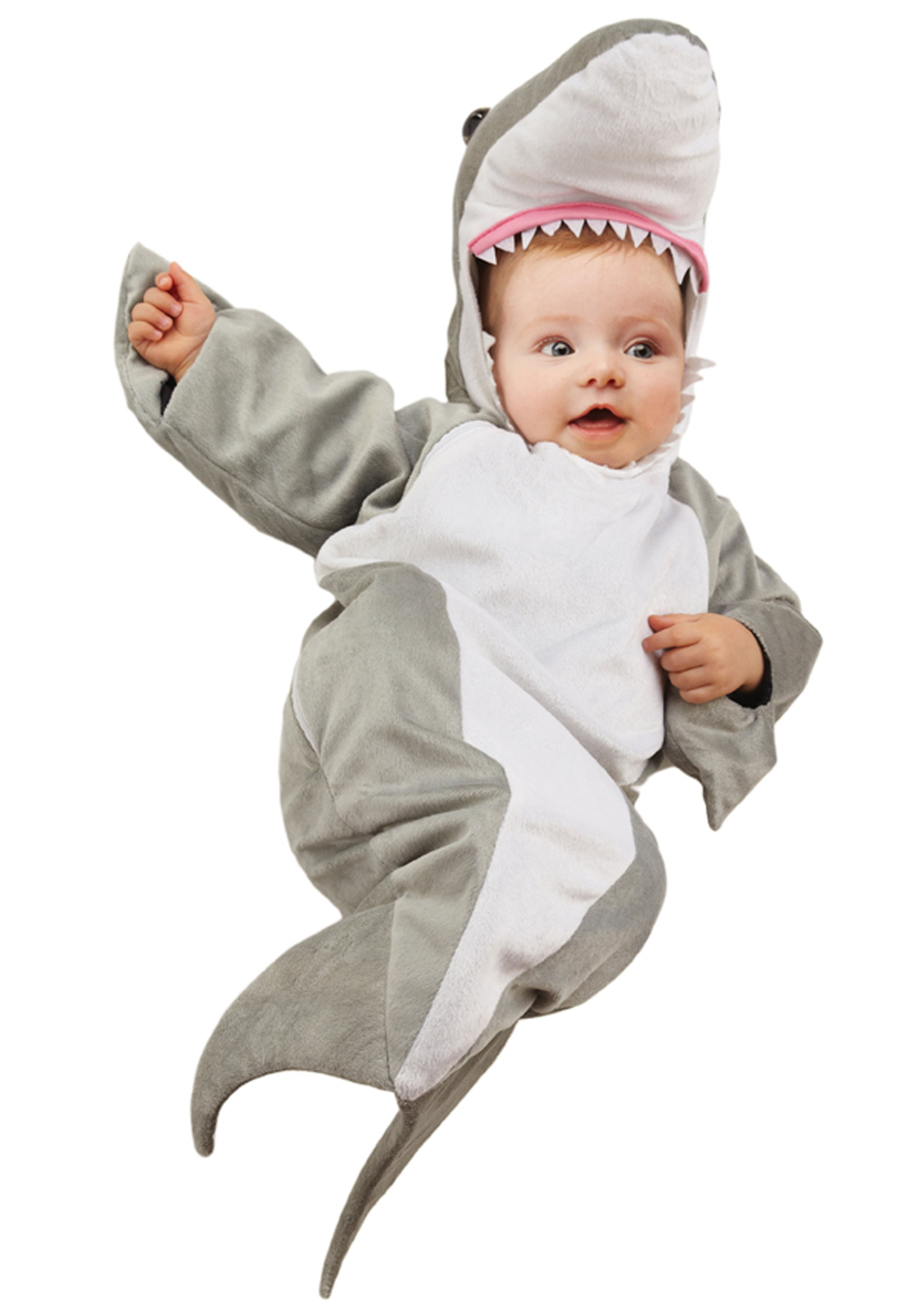 Shark Baby Bunting - Sea Animal Costume Ideas for Kids