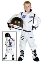 Boys NASA White Astronaut Costume