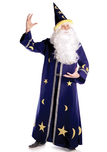 Mens Mystical Magic Wizard Costume