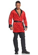 Mens Plus Size Smoking Jacket