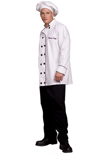 Adult Gourmet Chef Costume