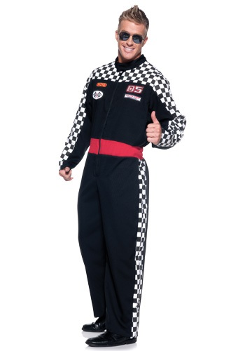 Plus Size Realistic Racer Costume