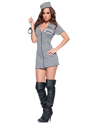 Miss Behavior Prisoner Costume