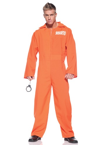 Plus Size Federal Prison Jumpsuit