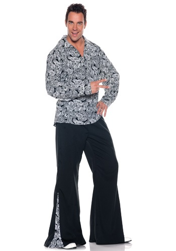 Mens Plus Size Funky Disco Costume