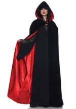 Velvet Cape w/ Red Satin Lining