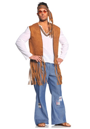 Right On Plus Size Hippie Costume