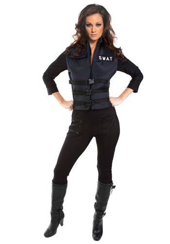 Women's Sexy SWAT Costume