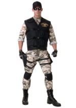 Mens Brave SEAL Team Costume
