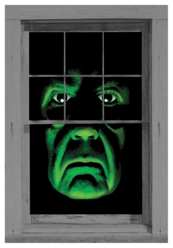 Green Monster Window Cling