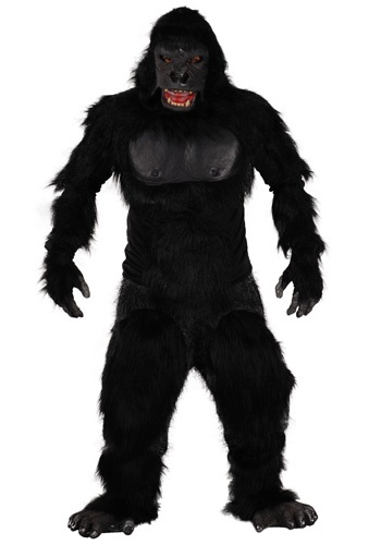 Mens Two Bit Roar Gorilla Costume