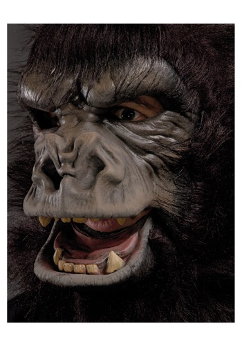 Realistic Two Bit Roar Gorilla Mask