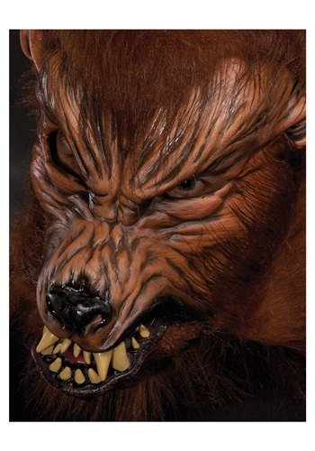 Scary Howl O Ween Werewolf Mask
