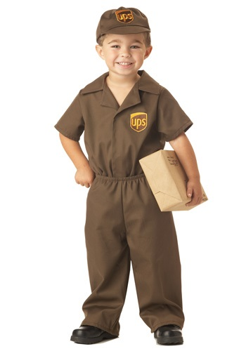 UPS Delivery Uniform for Toddlers