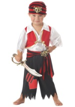 Ahoy Matey Pirate Costume For Toddlers