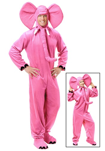 Pink Elephant Adults Costume