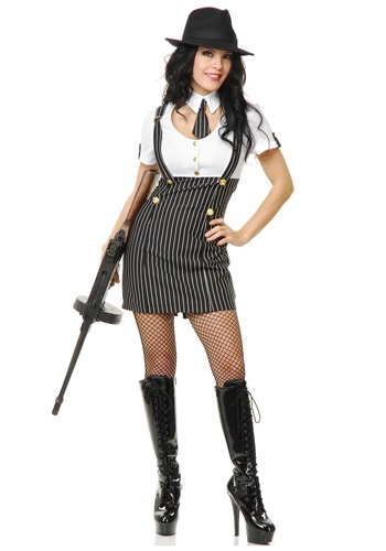 1920s Gangster Girl Costume