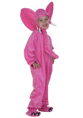 Pink Elephant Childs Costume