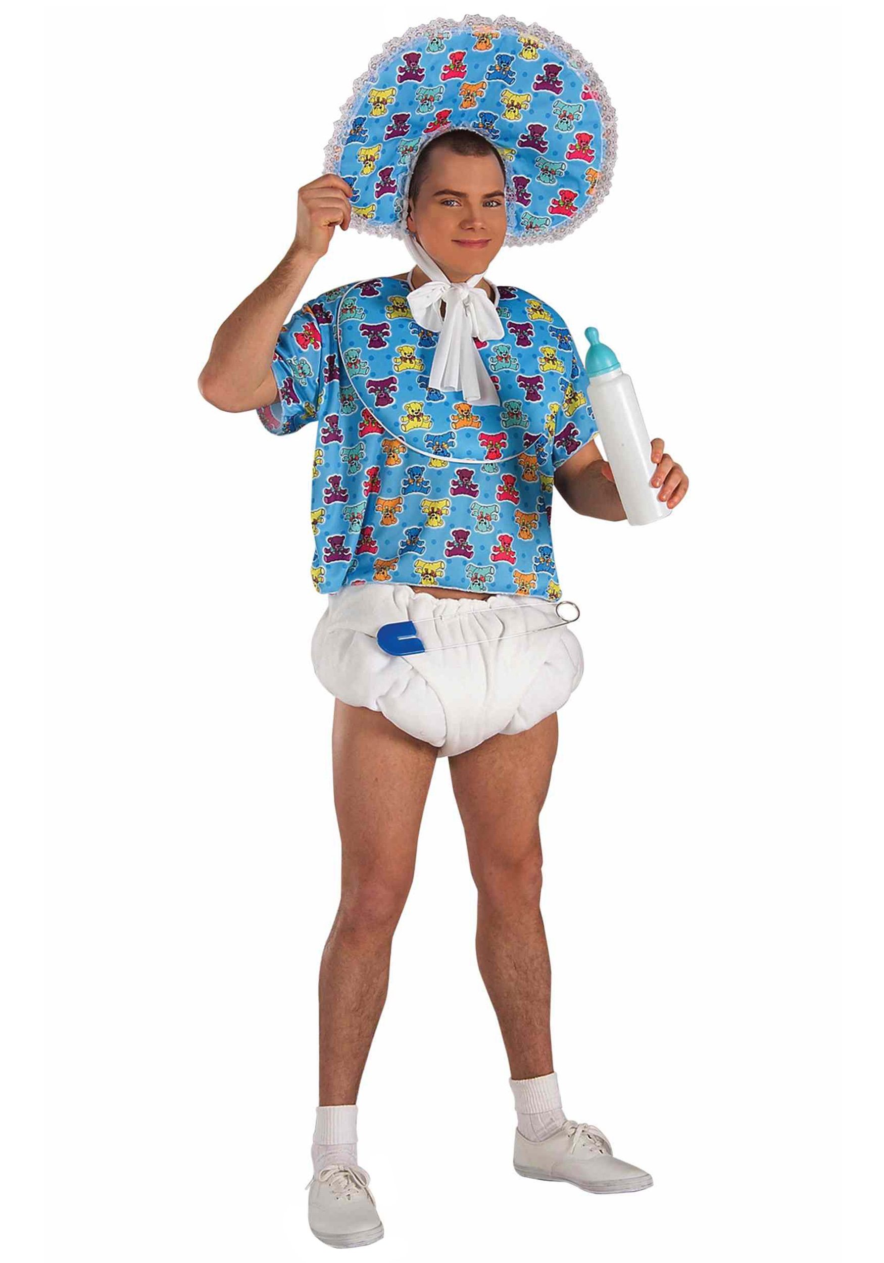 Funny Adult Baby Costume Men Mens Costumes