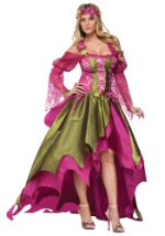 Plus Size Faerie Queene Titania Costume