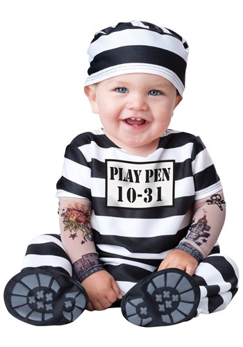 Time Out Infant Prisoner Costume