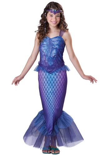 Mysterious Mermaid Tween Girls Costume